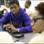 A sound-engineering class at Youth Connection's Innovations High School helped hook Devonte Perry McCullum on education.